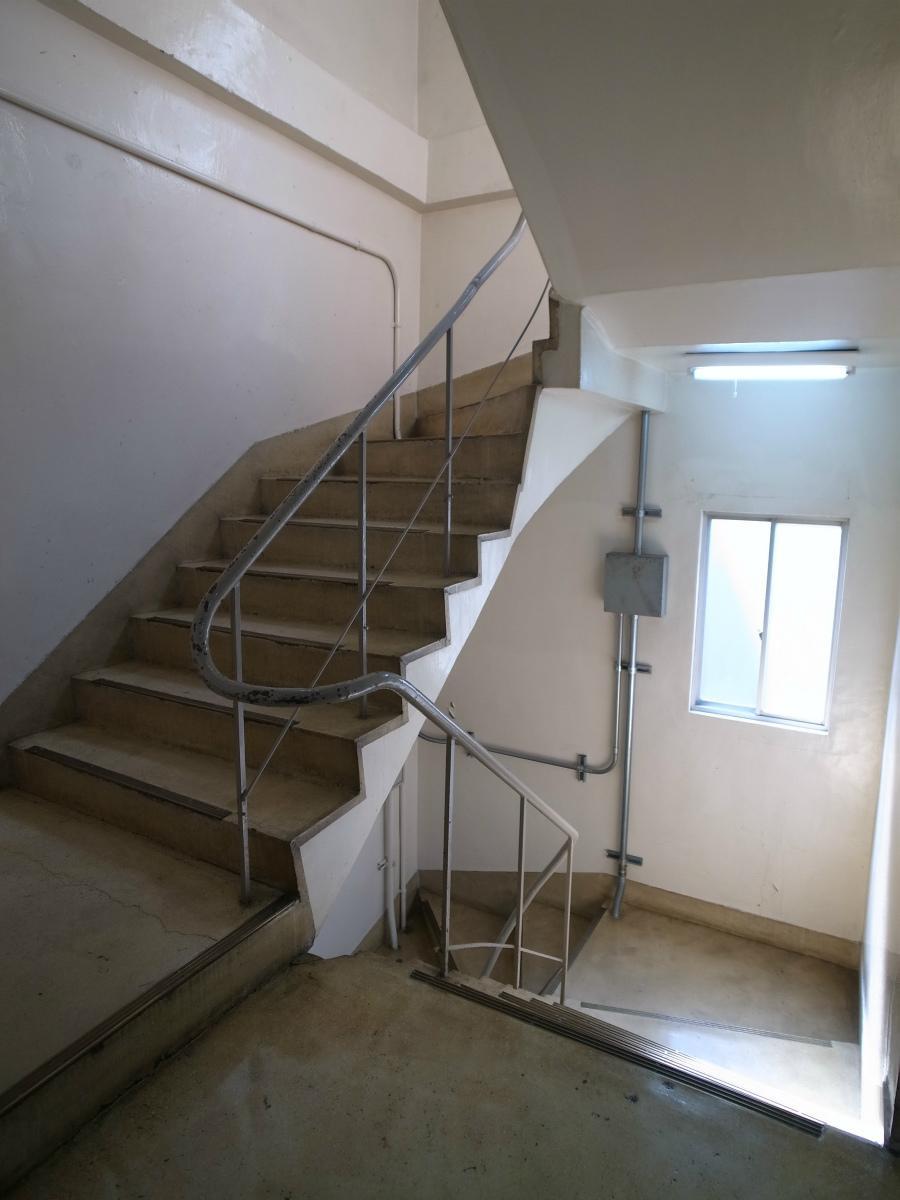 味のある階段です。