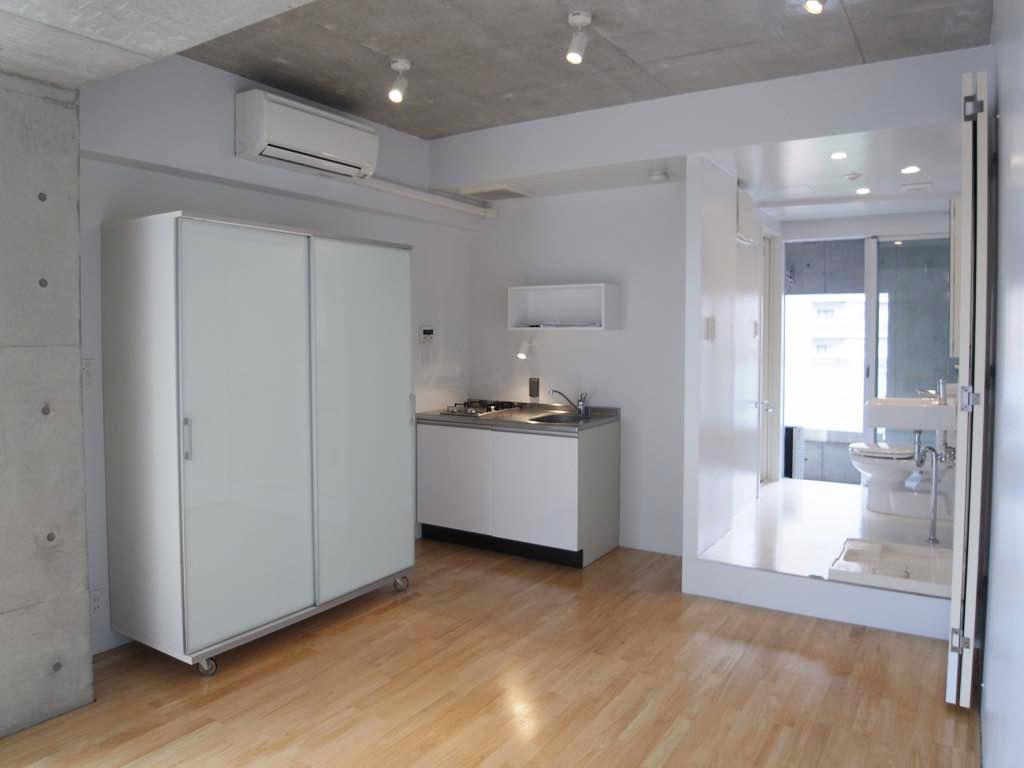 今回募集の住戸はバルコニーに面している洗面脱衣室が気持ちいい住戸です。