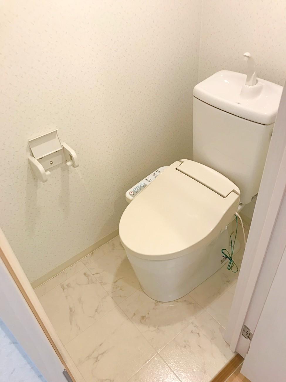 トイレもきれいになってます