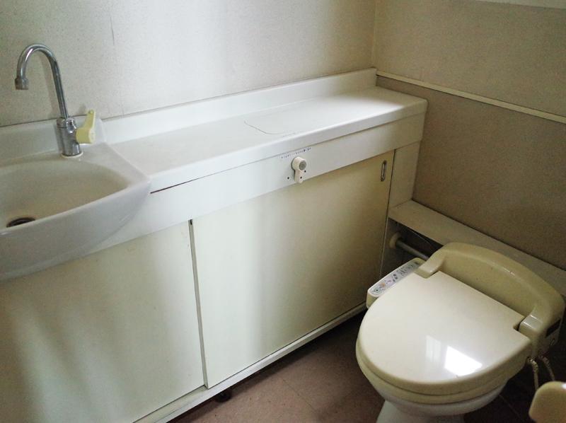 専有部内にトイレあり