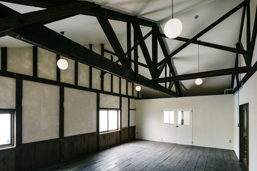 2階の「講堂」と名付けられた区画も時間貸しで利用可能。