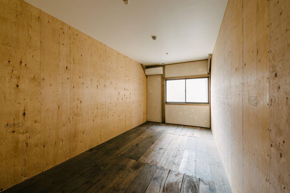 募集区画は13.40平米(※1階の床は土間仕上げです。)