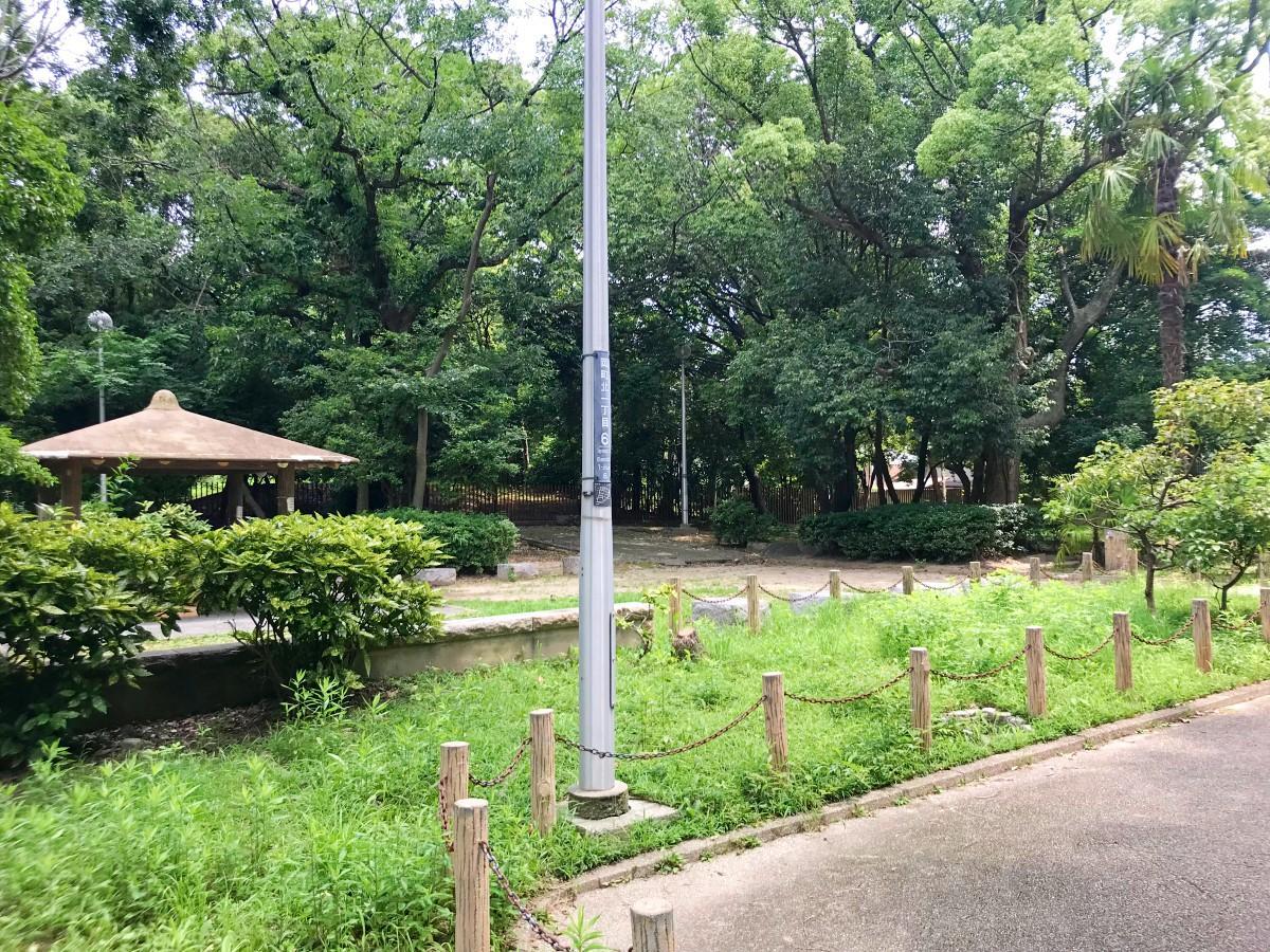 古墳跡がそのまま公園になっているそうです