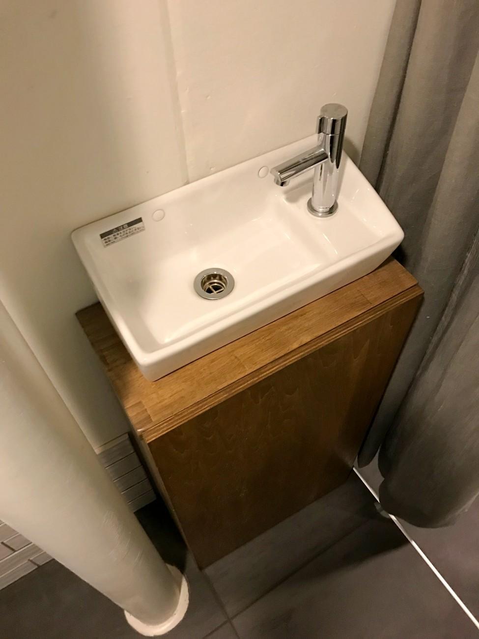 トイレ横のミニ手洗い