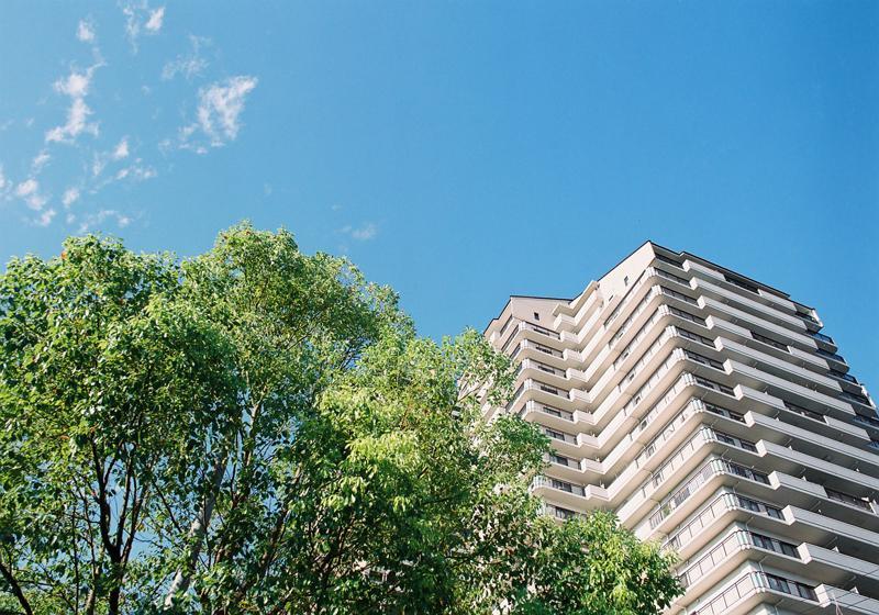 23階建のタワーマンションの一室