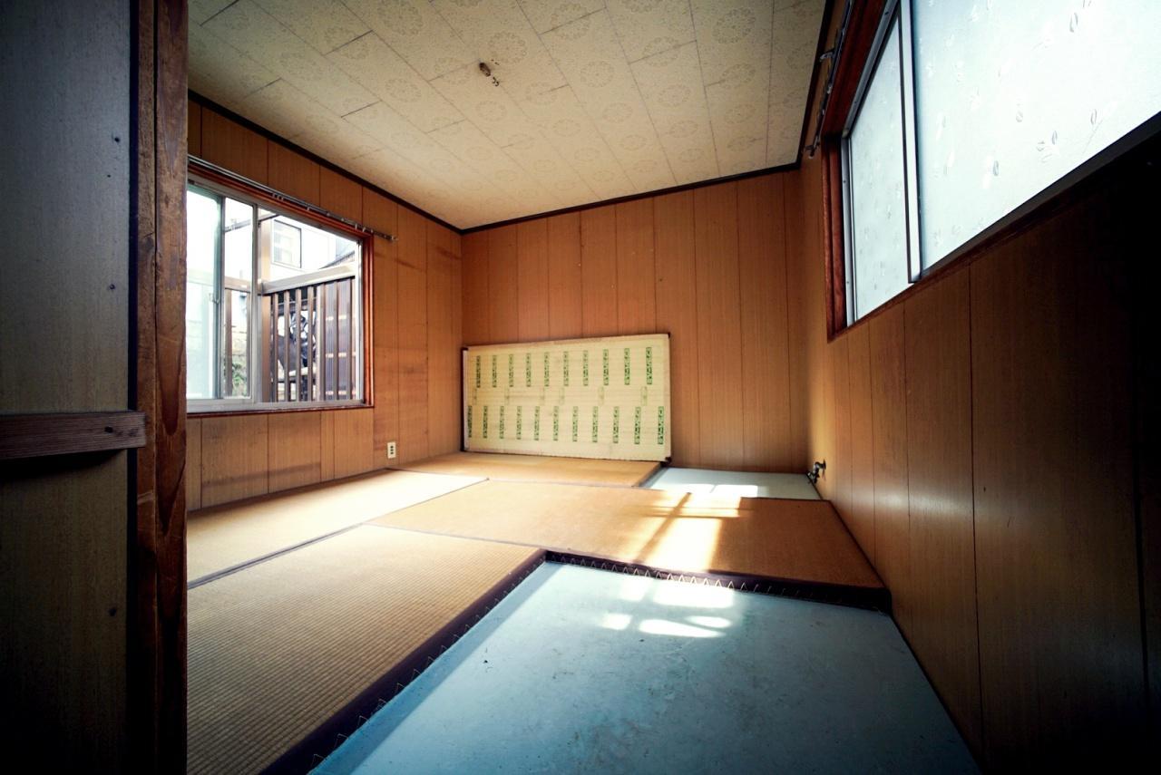 2階は籠もり感ある和室
