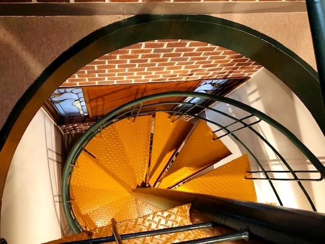 螺旋階段が素敵