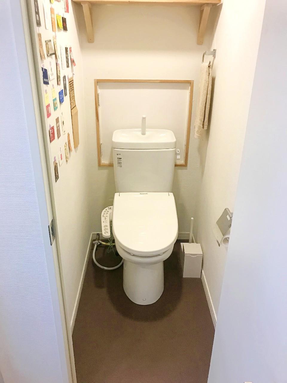トイレもしっかり改装されてます