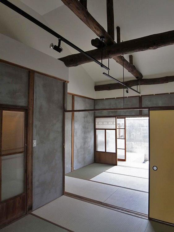 三人三様のリノベ長屋 (東大阪市永和2丁目の物件) - 大阪R不動産