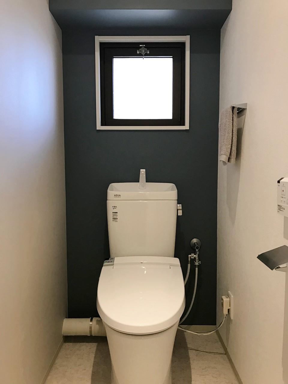 トイレまで統一感ありますね