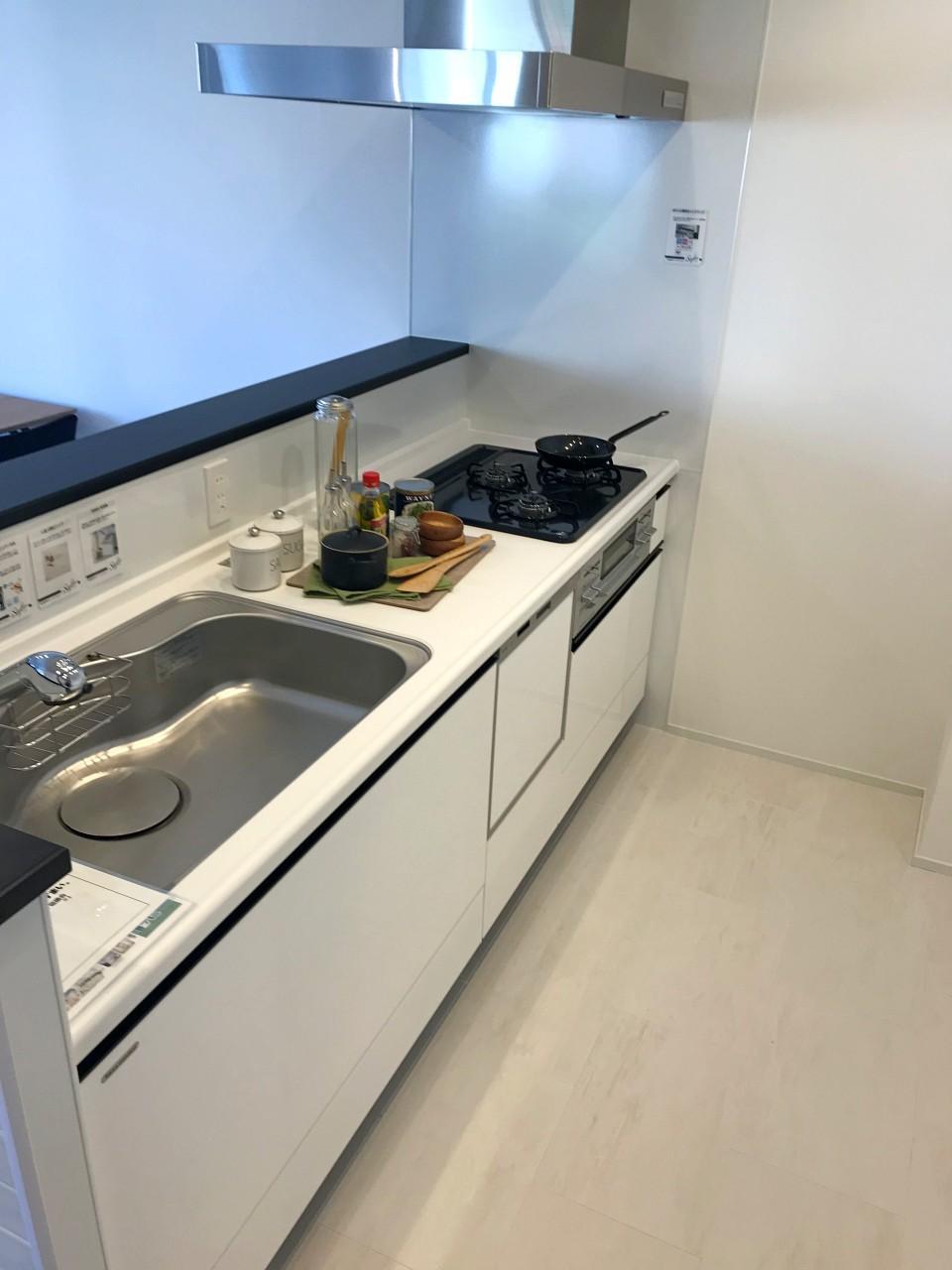食洗機も含め、設備は一通り備わっています
