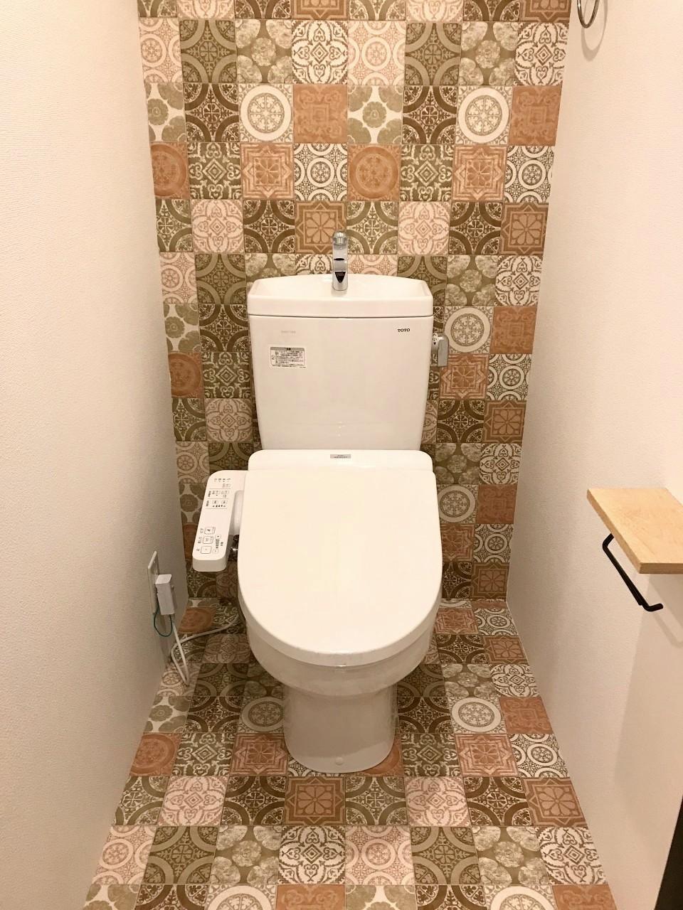 同じくトイレも主張してきます