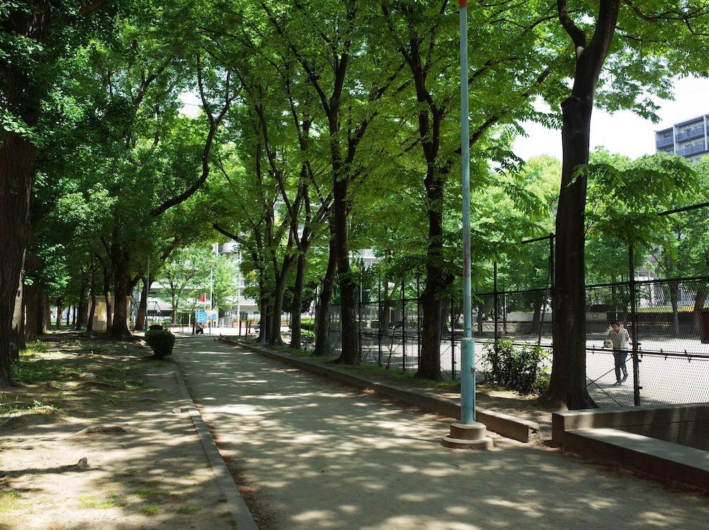 休憩時間は公園で過ごしましょう
