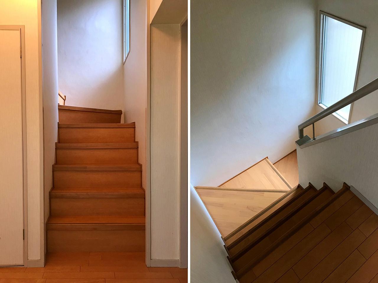階段が織りなす空間の広がり