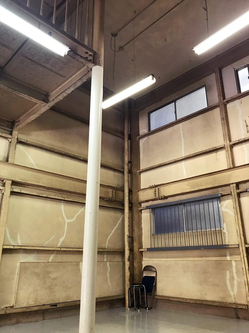 最大天井高は5.1メートル