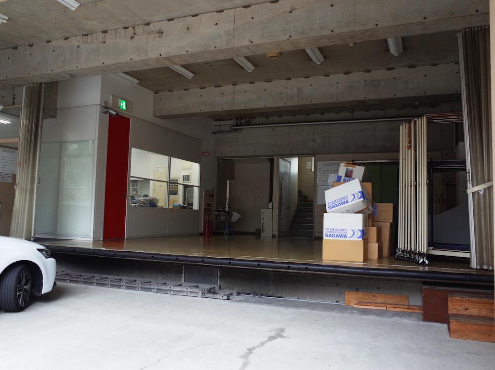 1階の搬入口
