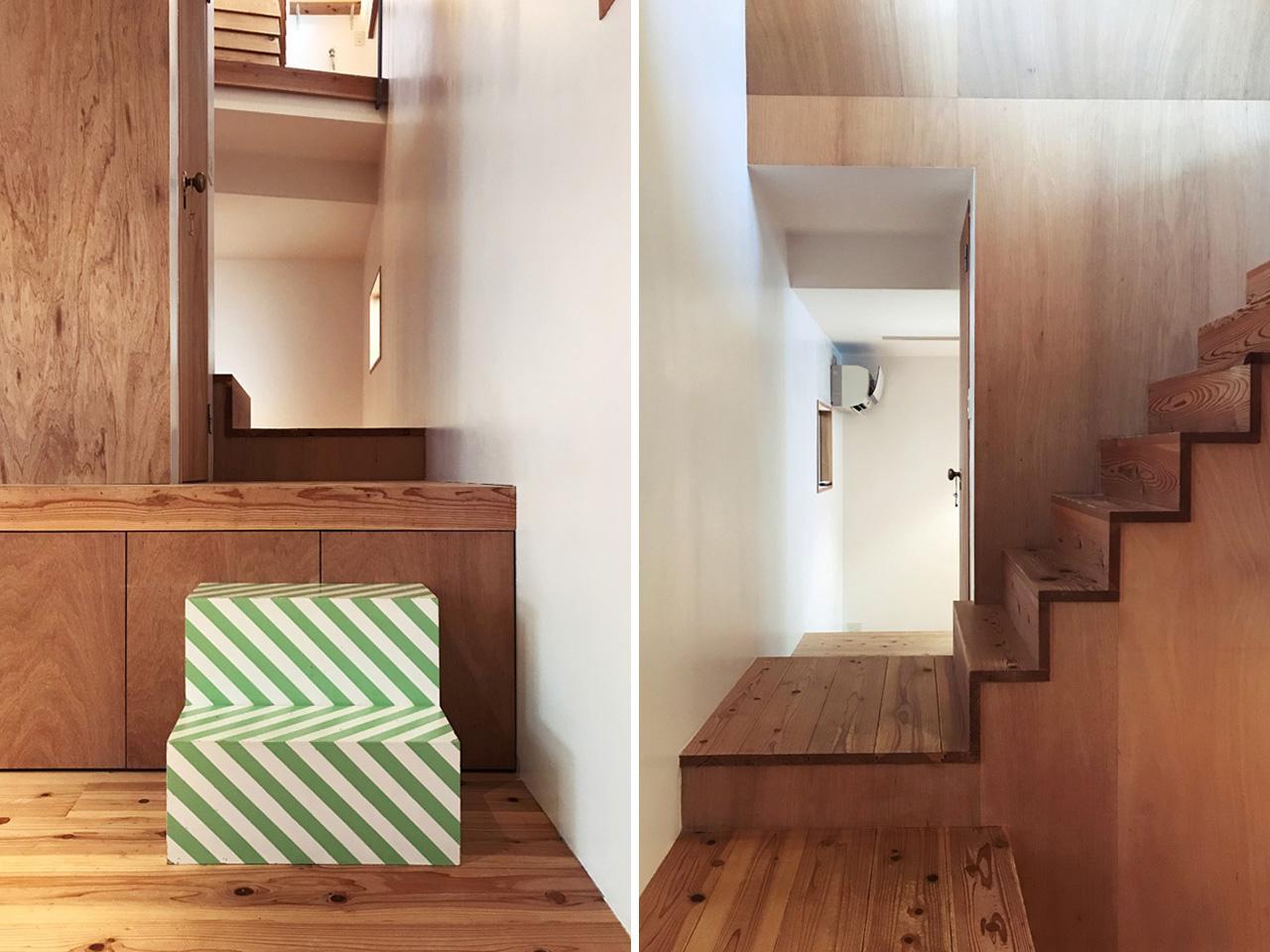 階段前も通り抜けられます