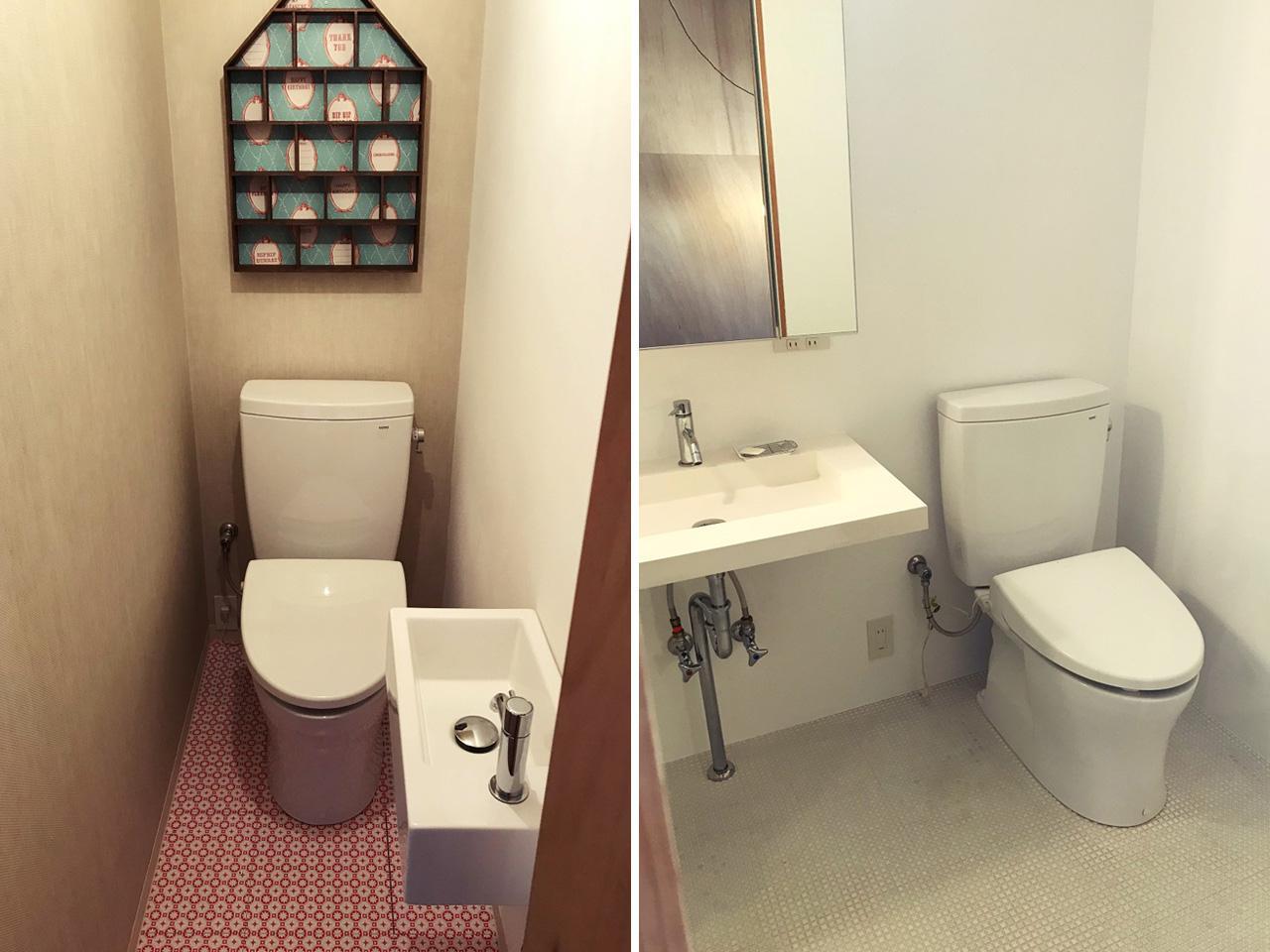 トイレは各階に2箇所