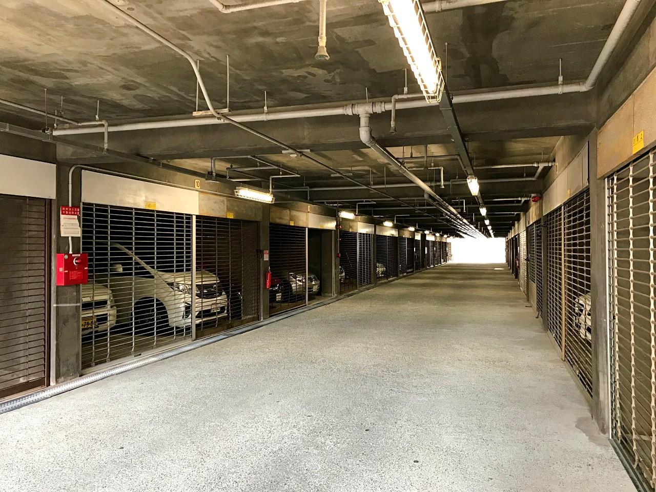 地下駐車場も整備されてます(掲載時空きなし)