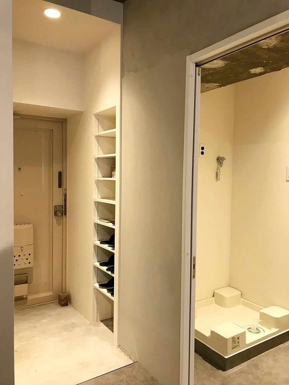 本来の玄関脇に浴室