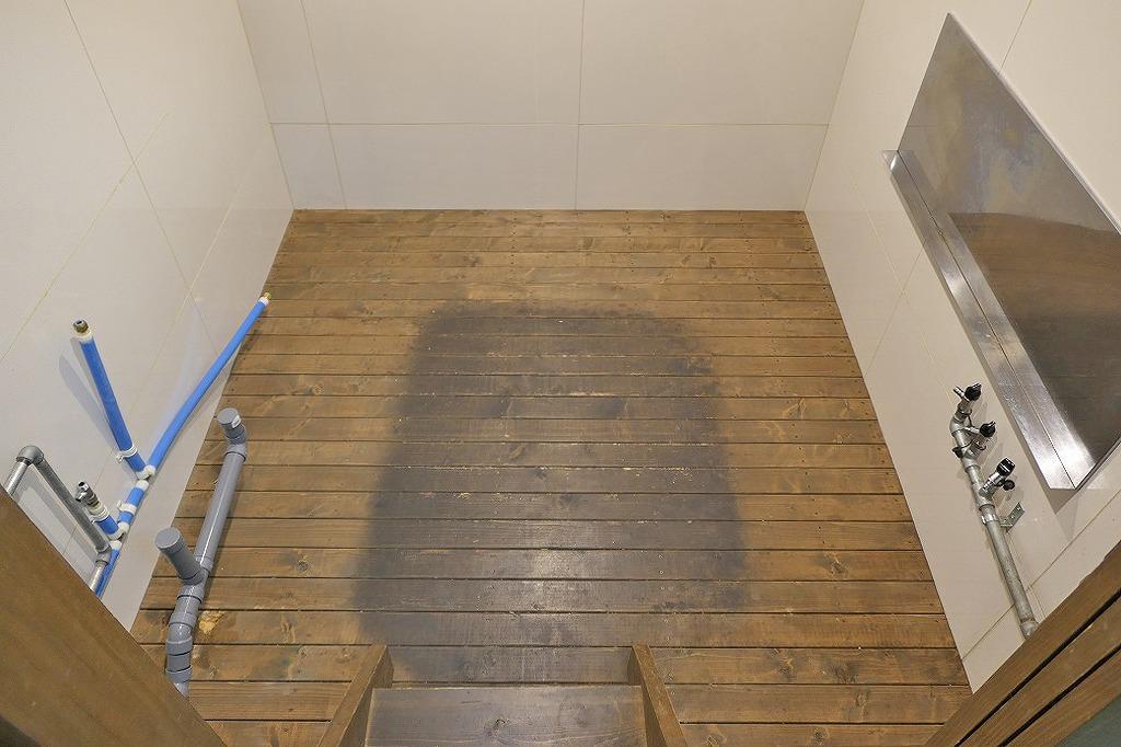 約2.1メートル四方の厨房スペース