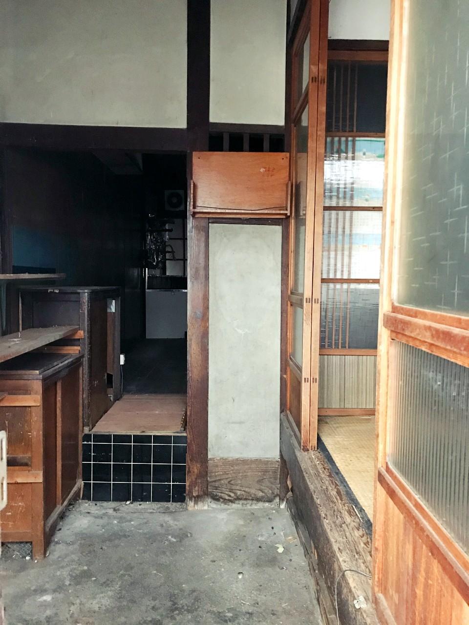 炊事場だったろう玄関