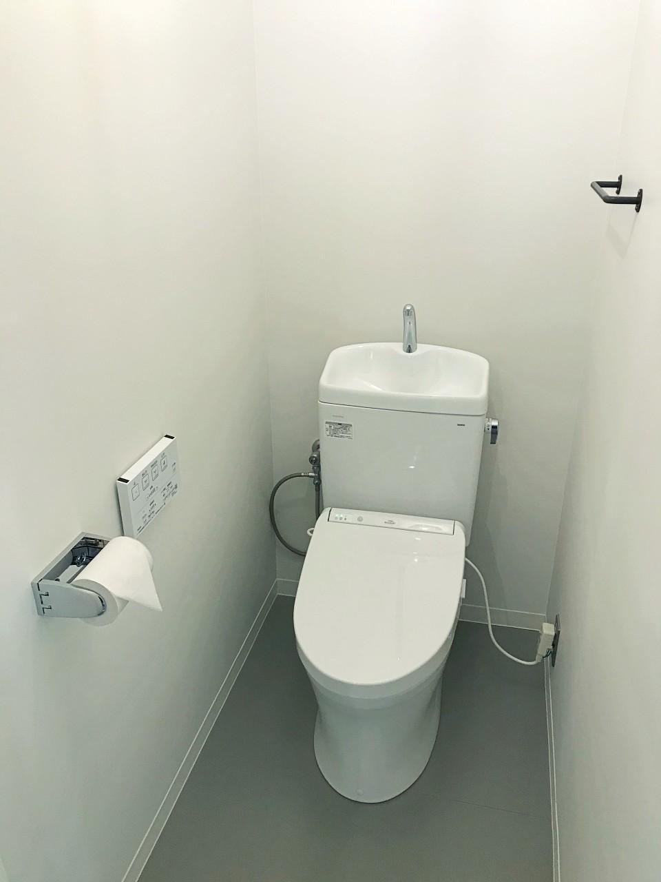 スマートで清潔感あるトイレ
