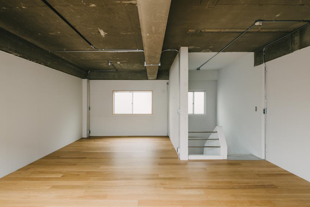 103号室の2階部分