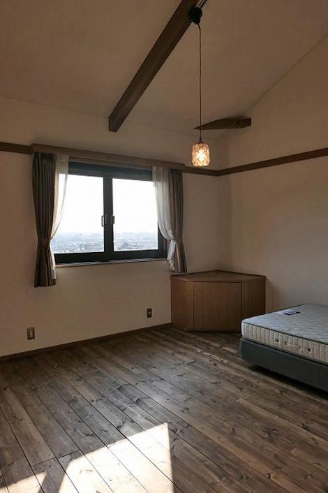 205号室、部屋からの眺望が最高です。