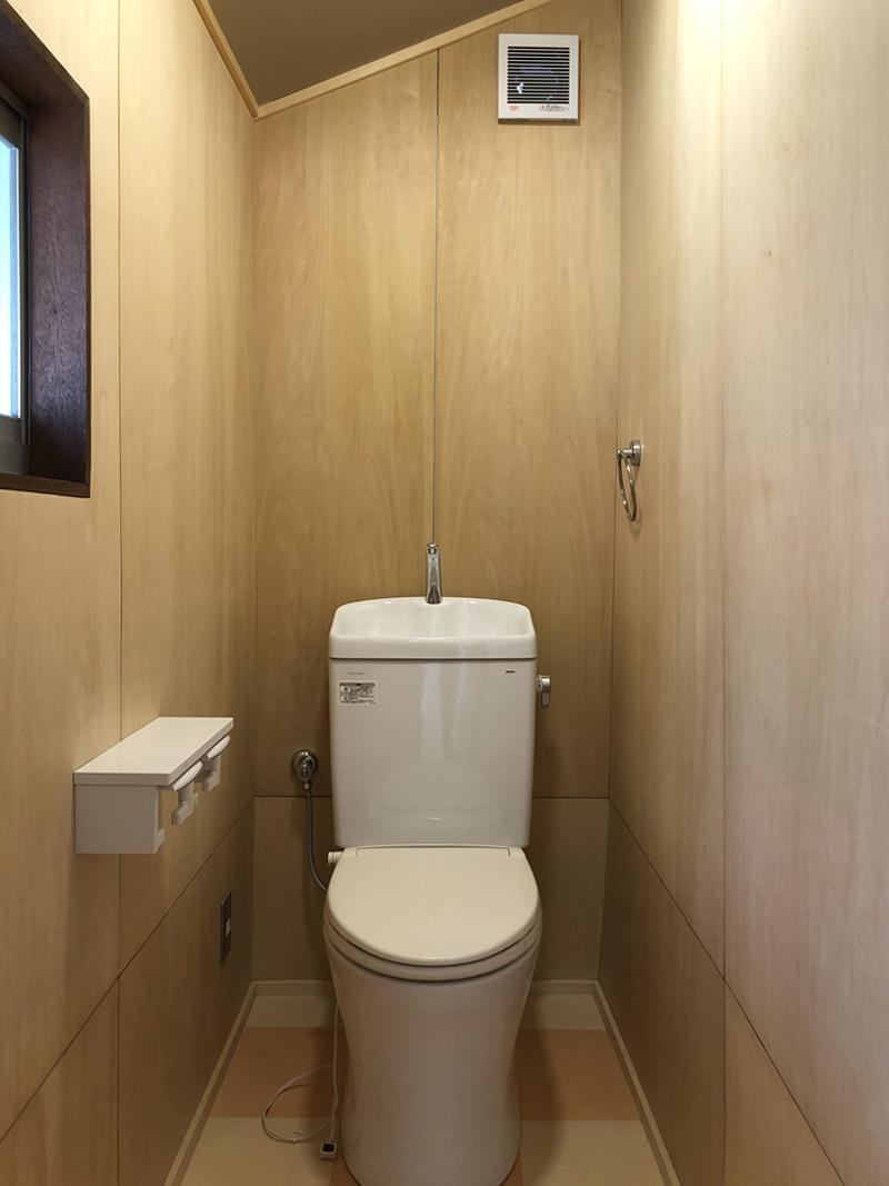 トイレは落ち着き空間