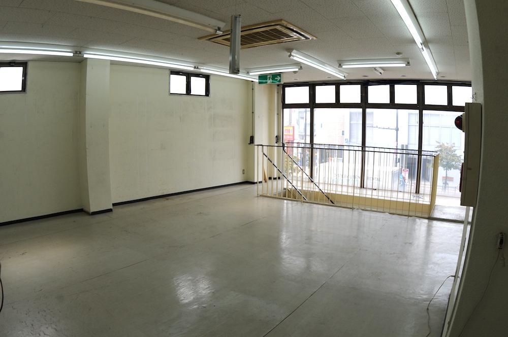 2階、改装前の状態