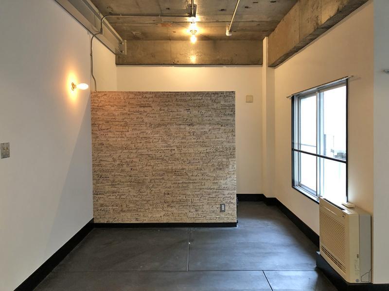 室内は天井までの壁がなく、緩やかに空間が隔てられる