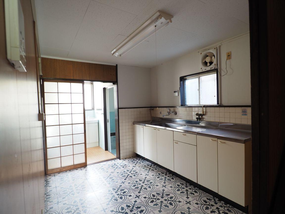 DK。キッチンはゆったりとした広さがあります