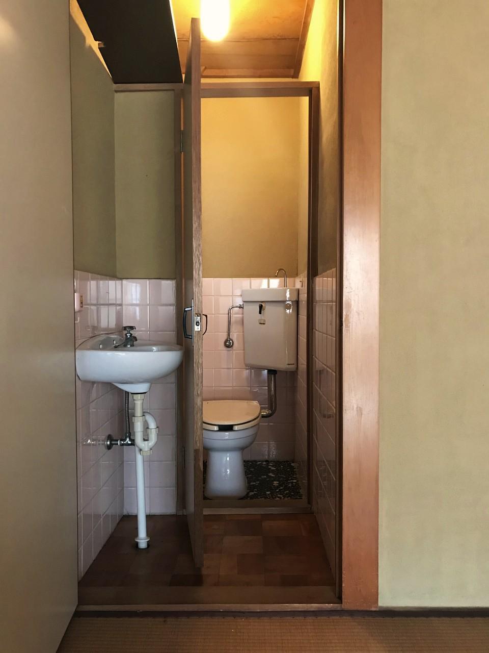 トイレが複数なのがいいところ