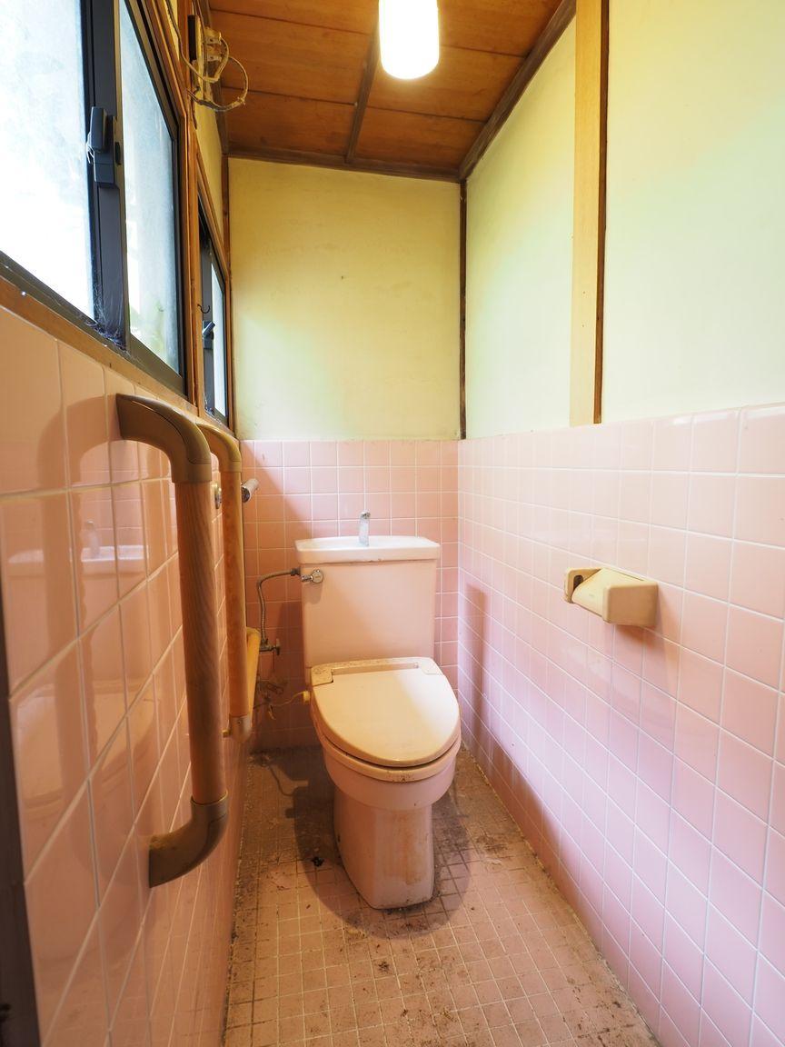 WC。光がよく入る