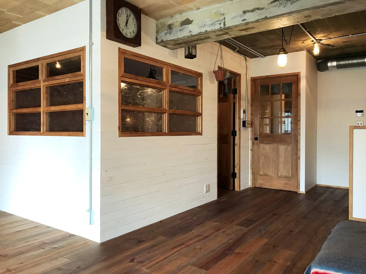 LDKに半個室的な洋室が隣接