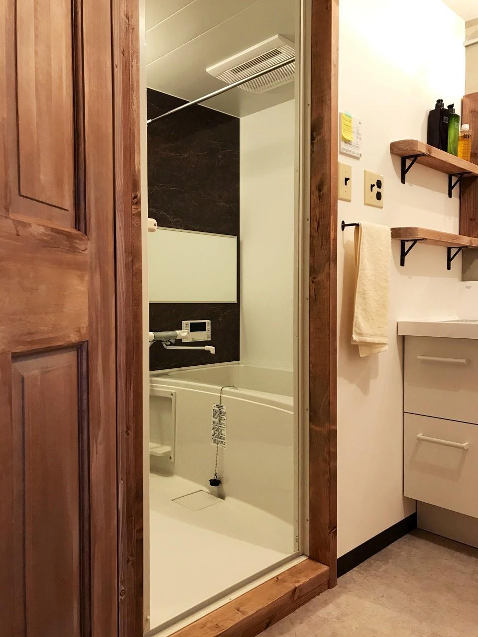 でもお風呂は追焚に浴室乾燥付きです