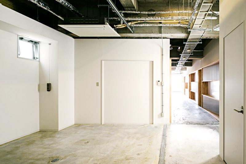 区画の奥にある3階の打ち合わせスペース ※家具が搬入されます