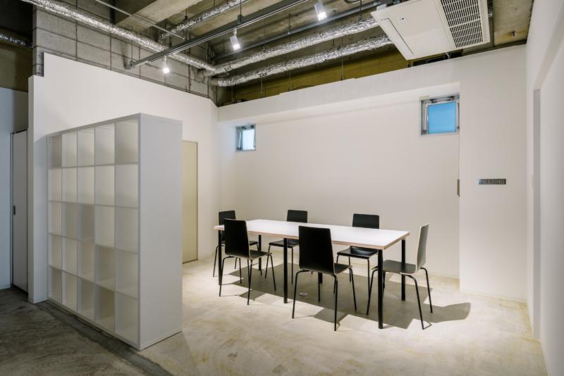 3階の打ち合わせスペースも利用可能です