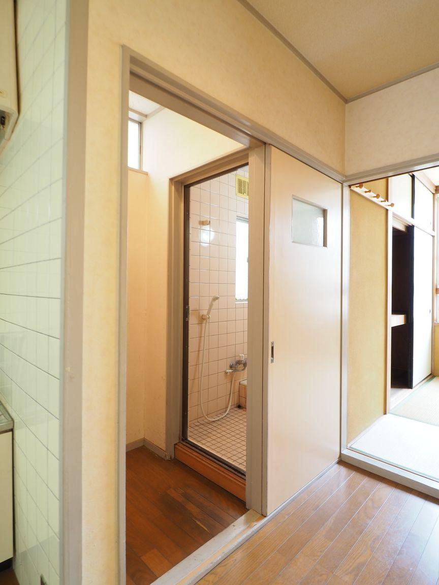 現状の浴室スペースは畳一枚分の広さ