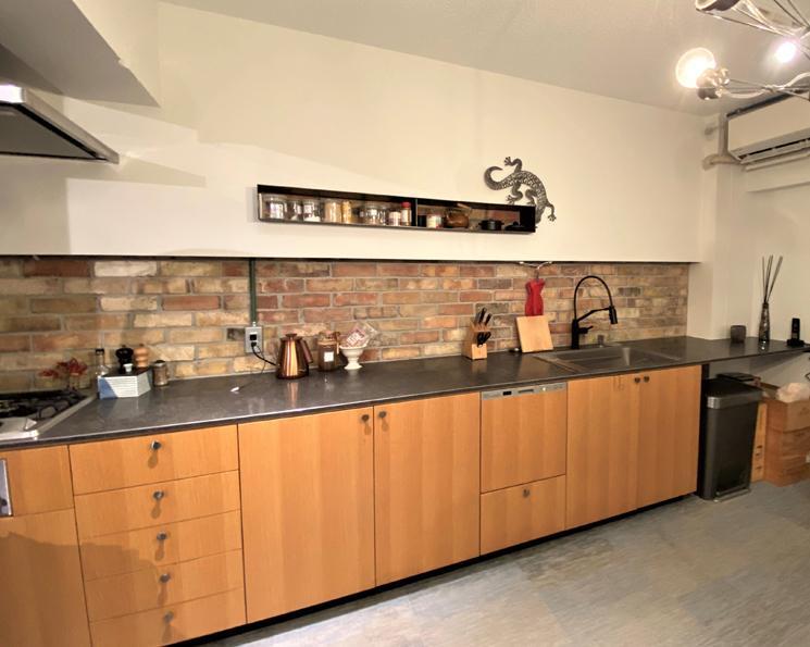 作業スペースが広く料理をする事が一段と楽しくなりそう
