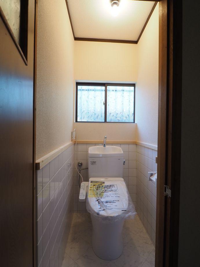 1階トイレ。清潔感がある