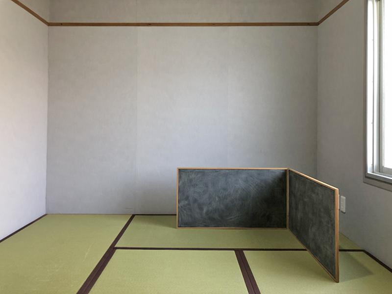 奥の和室のやすりも更新されています
