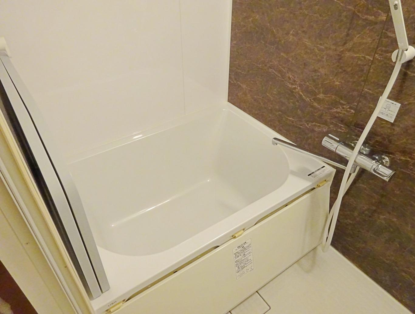 浴室。2017年に一度新しくされています。