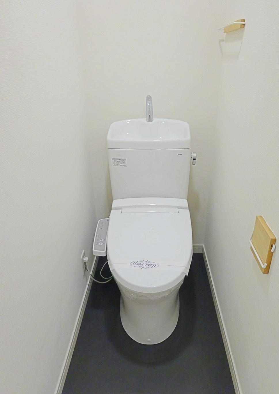 トイレも清潔感があります