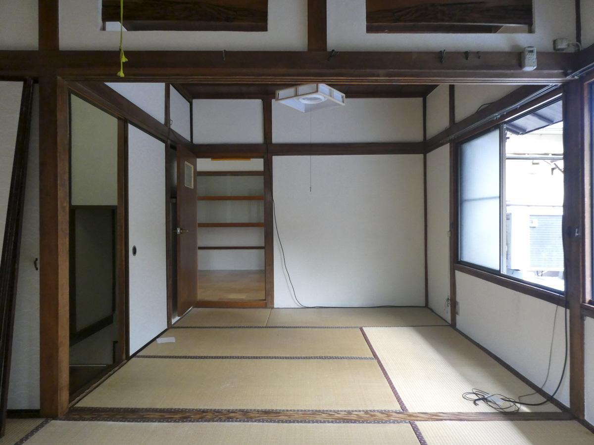 2階の畳は張り替え予定