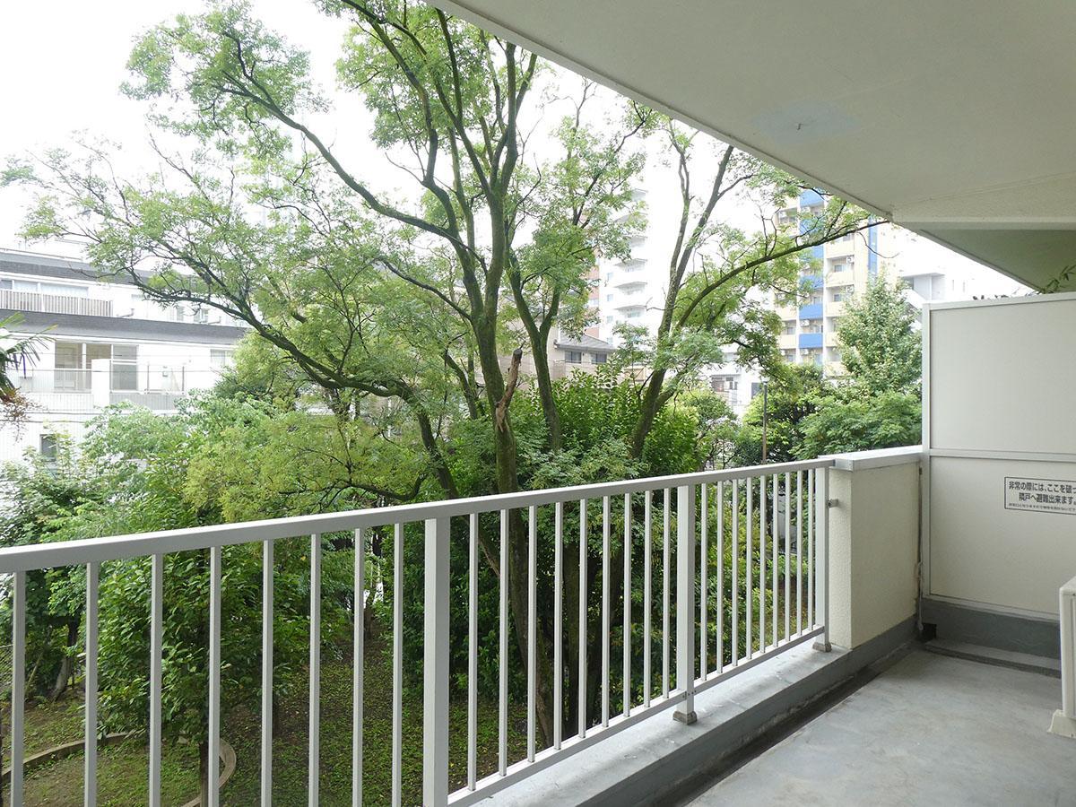 悠々と眺める緑 (新宿区市谷薬王寺町の物件) - 東京R不動産