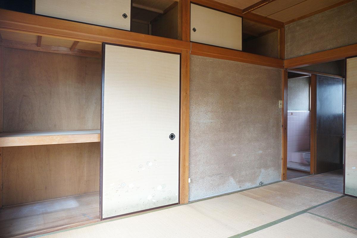 2階:昔の戸建ては収納が豊富