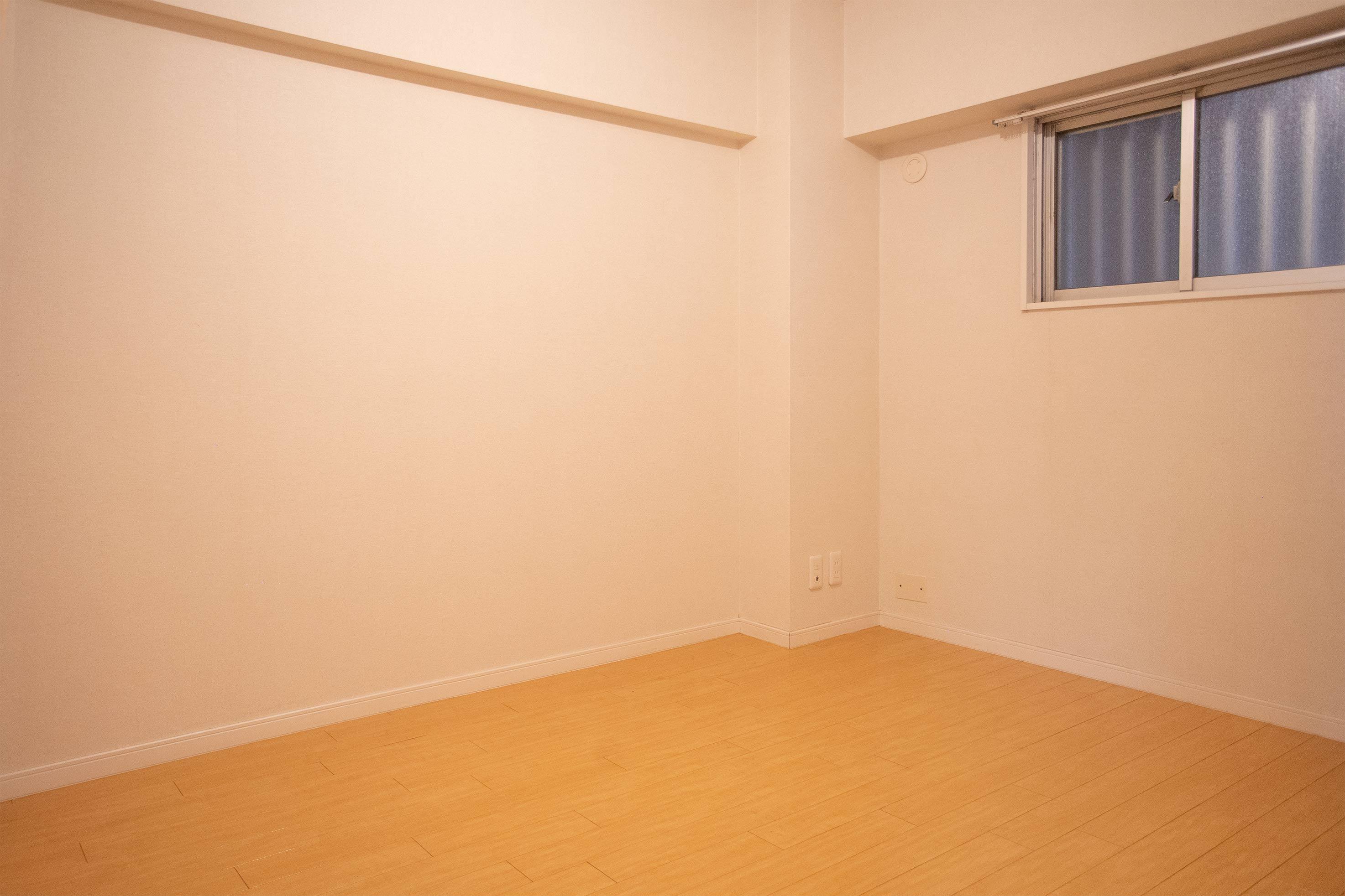 6畳の寝室