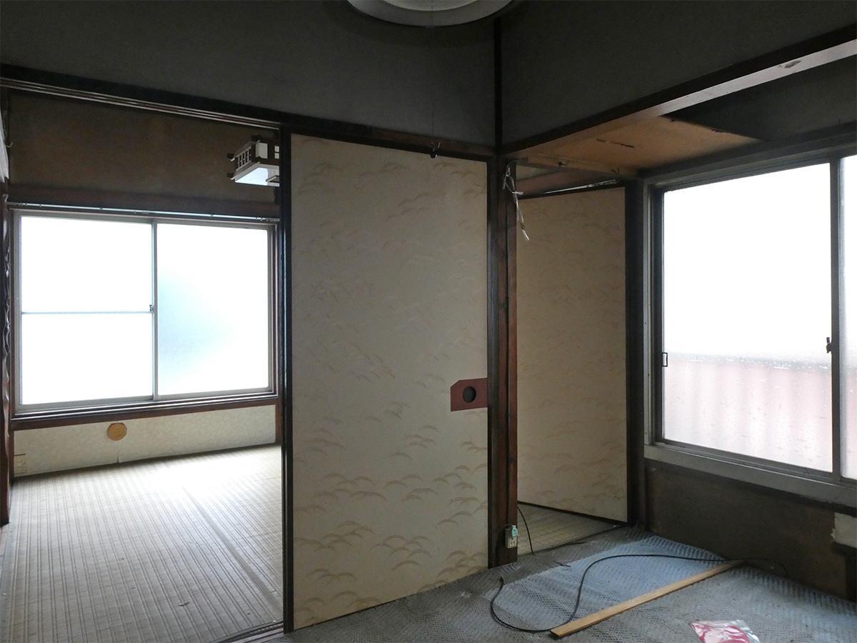 2階北側の洋室。和室とひとつながりな感じ
